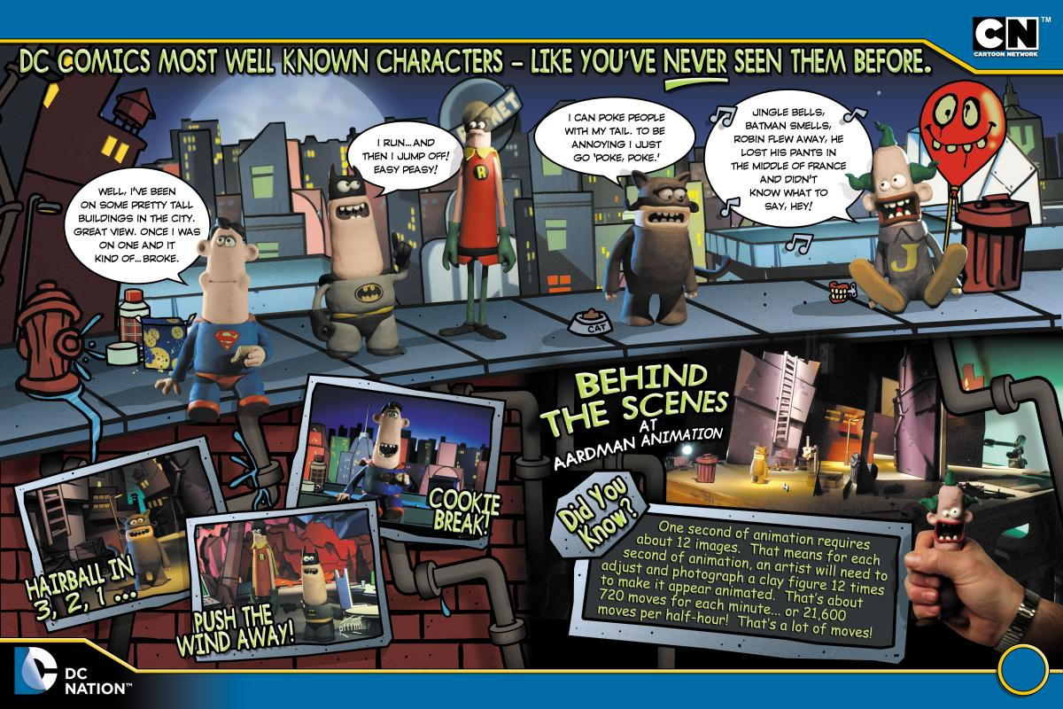 DC Nation Magazine Aardman Feature