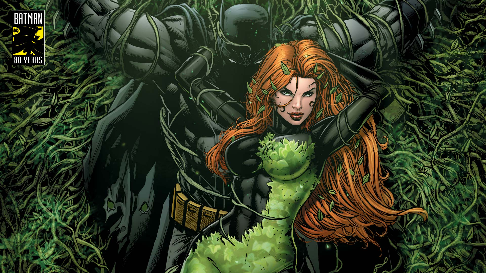 Brilliant Women Of Batman Poison Ivy Steals It With A Kiss