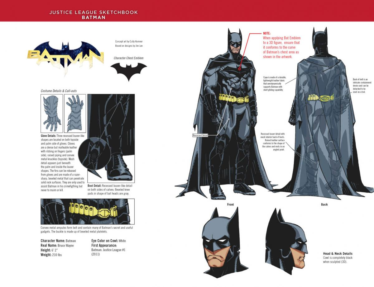 New 52-Batman Designs