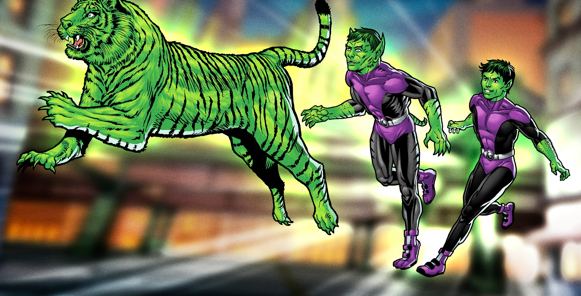 breaking news beast boy claws his way to titans dc