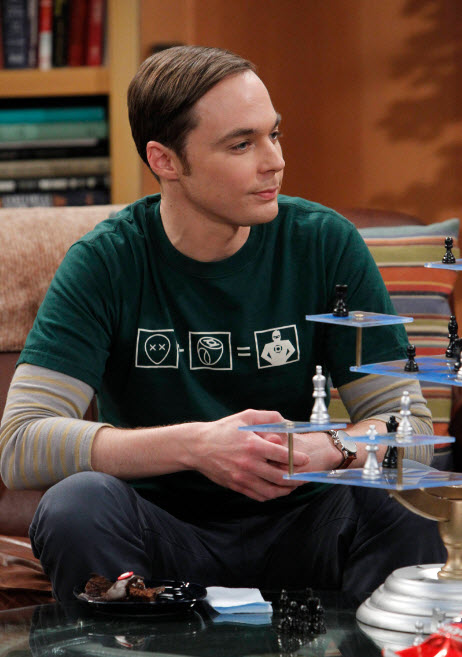 Big Bang Theory/Green Lantern Shirt