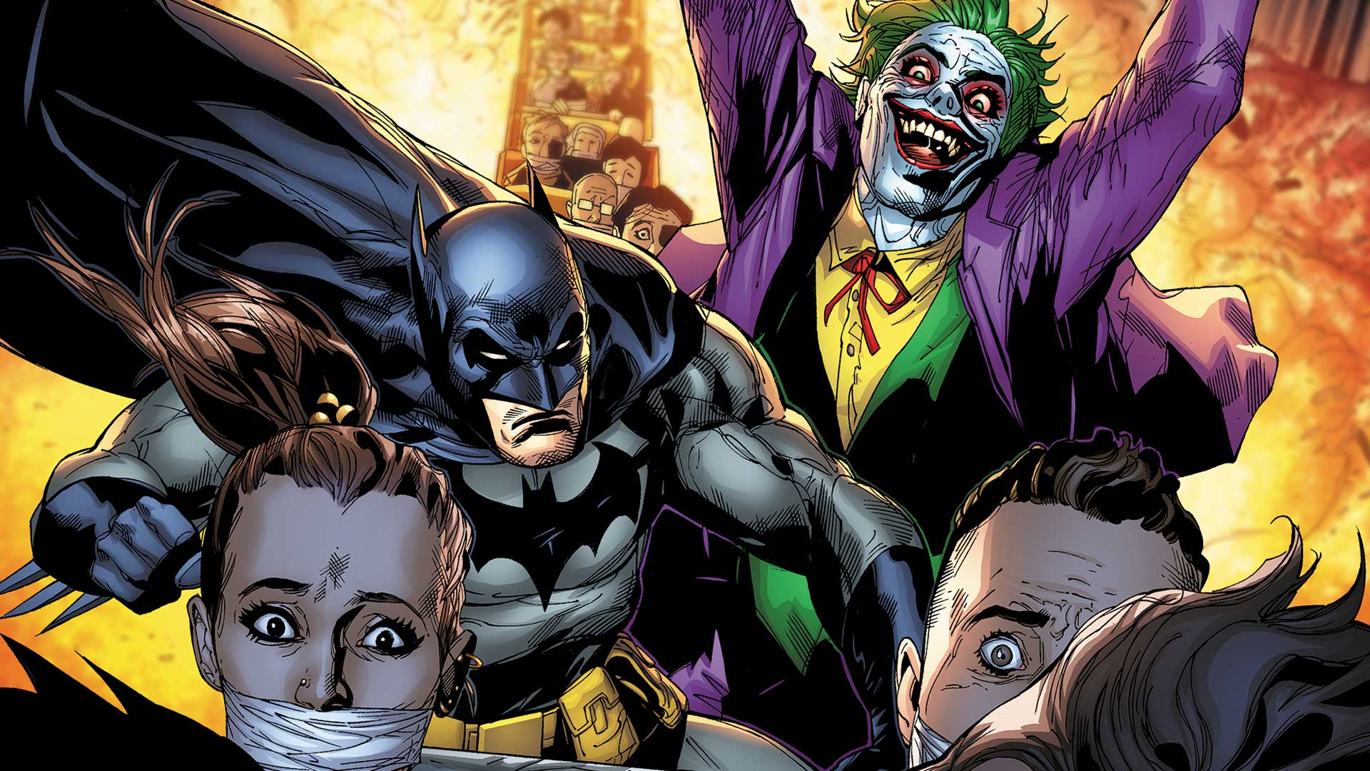 First Look The Joker Returns To Gotham Dc