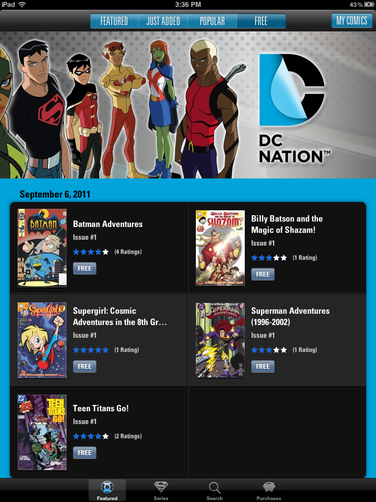 DC Nation App