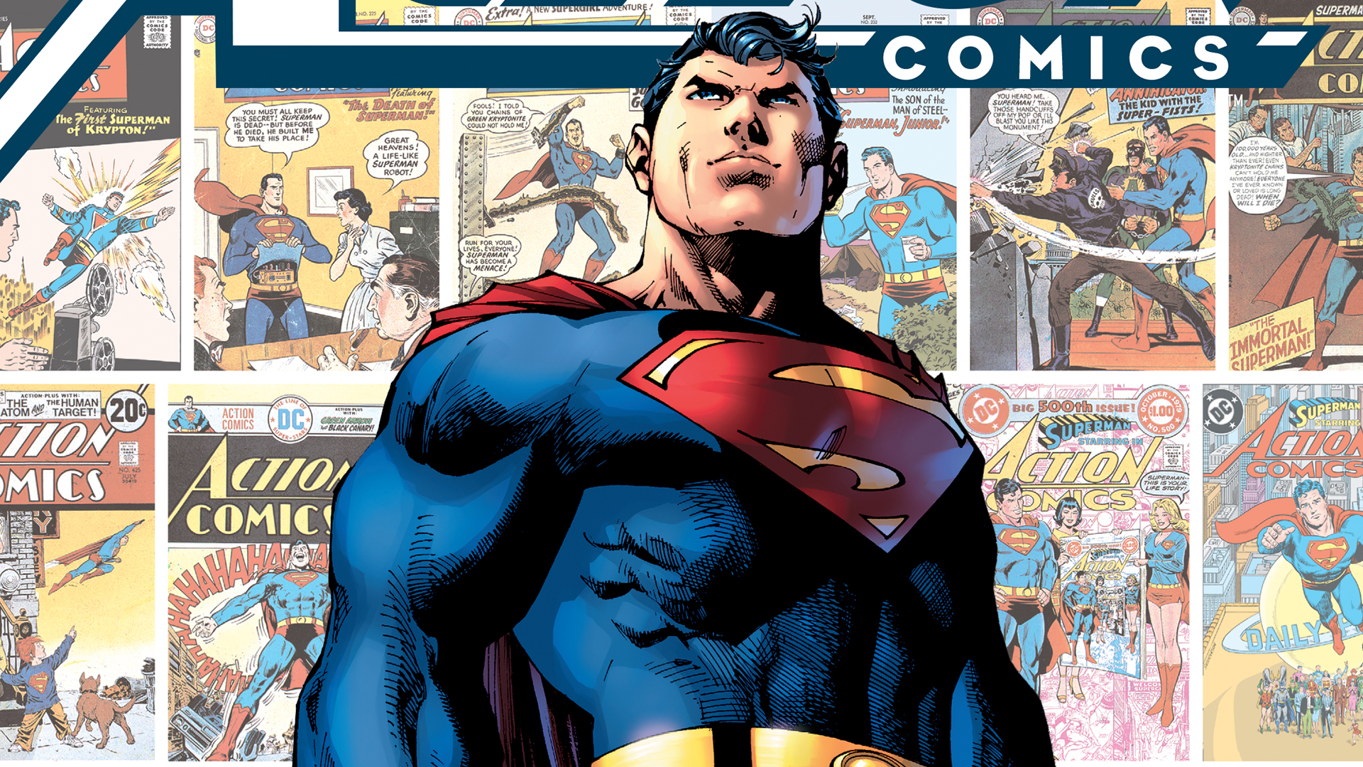 Action Comics 80 Years Of Superman The Deluxe Edition Dc