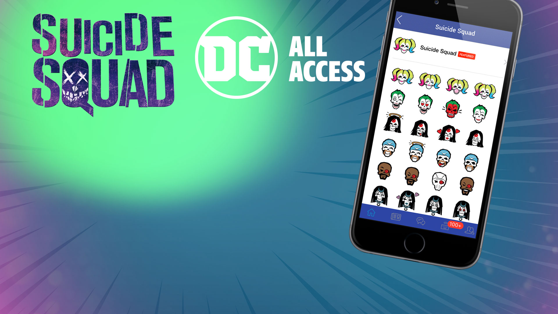 New Suicide Squad Emoji Pack: Step by Step | DC