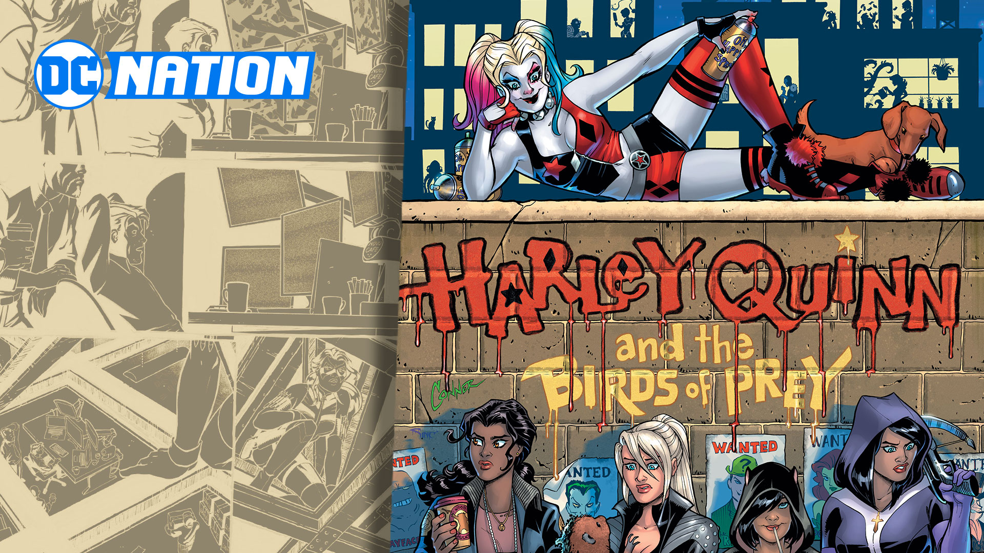Conner And Palmiotti Return With Harley Quinn And The Birds Of Prey Dc