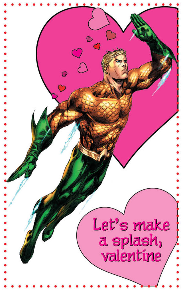 this valentines day say it with super heroes - Valentines Day In Dc