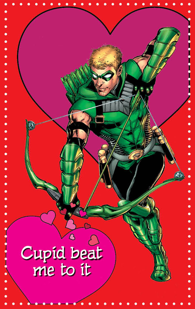 This Valentines Day Say It With Super Heroes DC