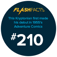This Kryptonian first made his debut in 1955's Adventure Comics #210