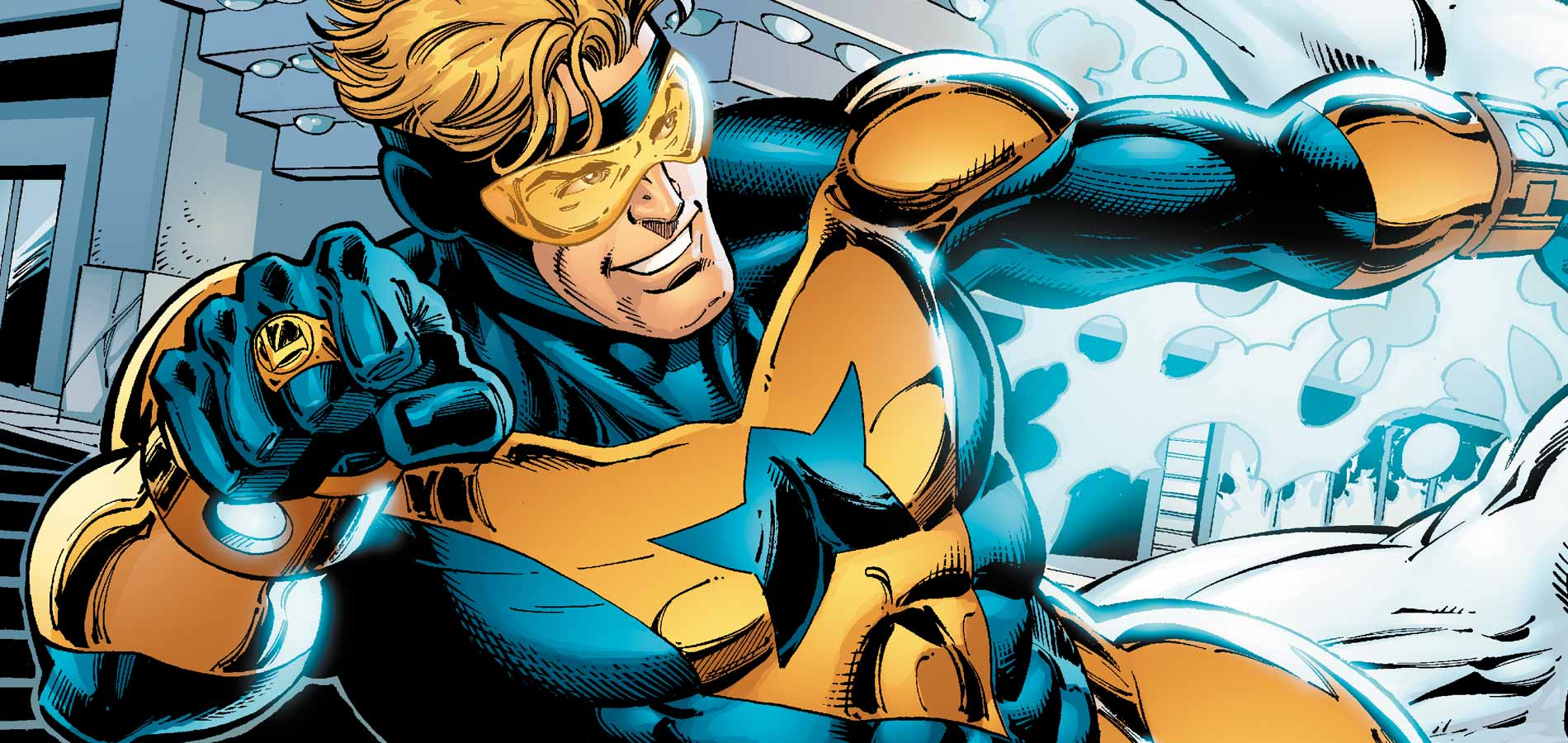 The Miz Wants To Play DC's Booster Gold