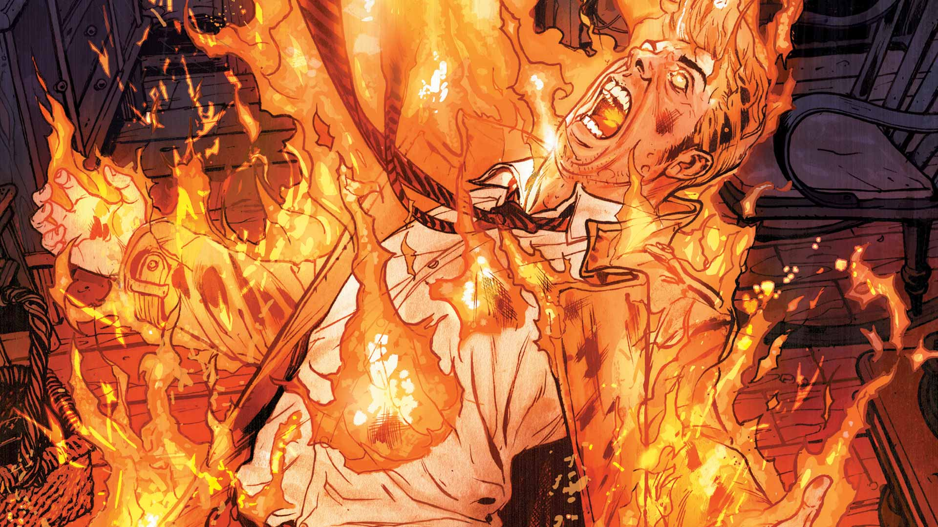 Constantine Vol 3 The Voice In The Fire Dc