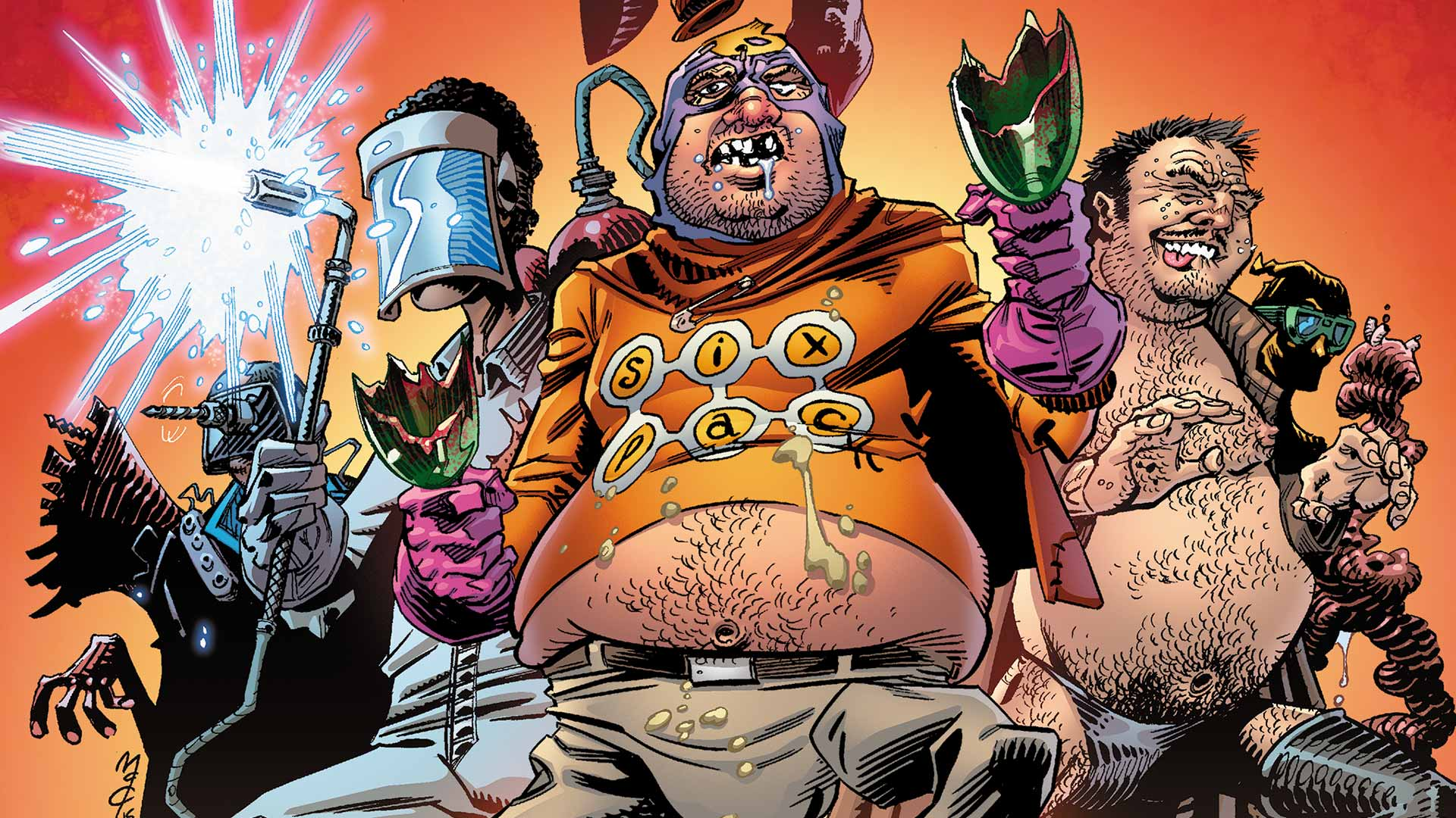 ALL STAR SECTION EIGHT #1 | DC
