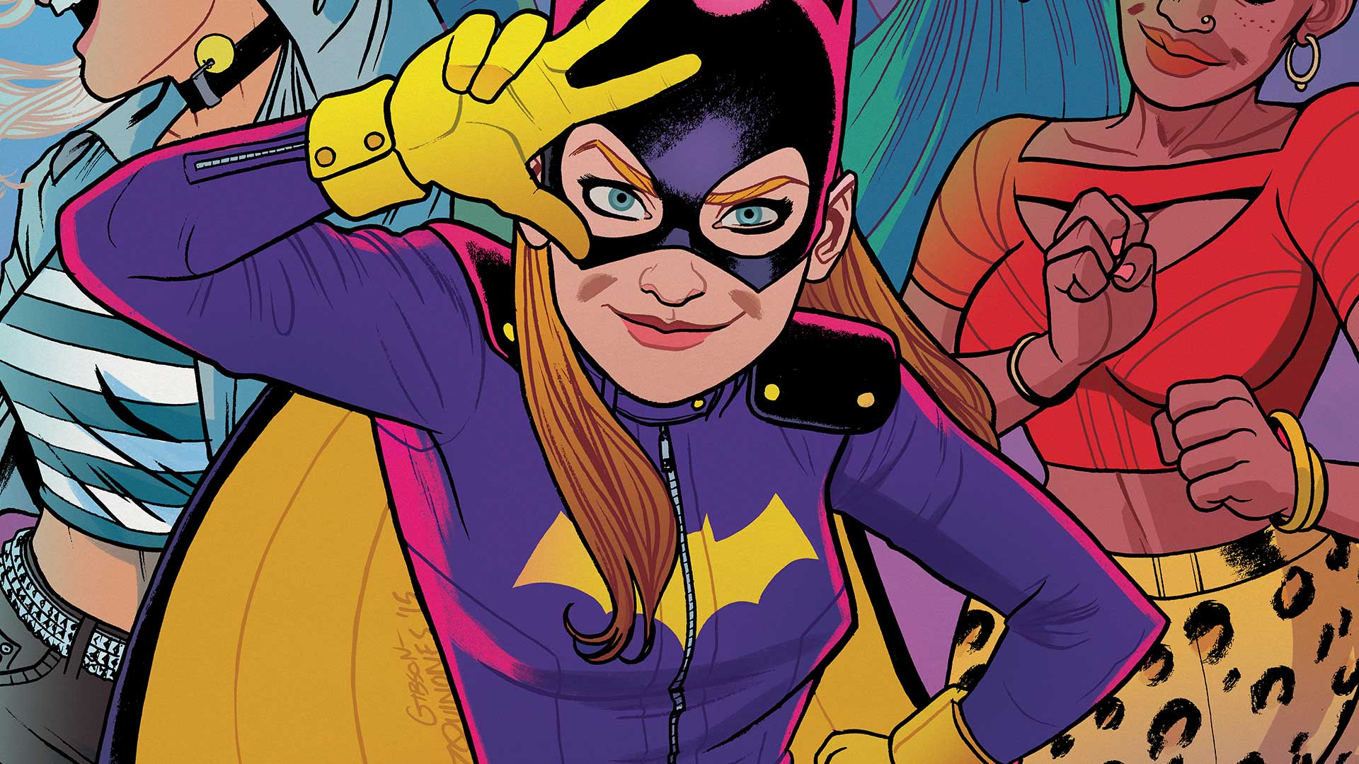BATGIRL #45 cover by Babs Tarr