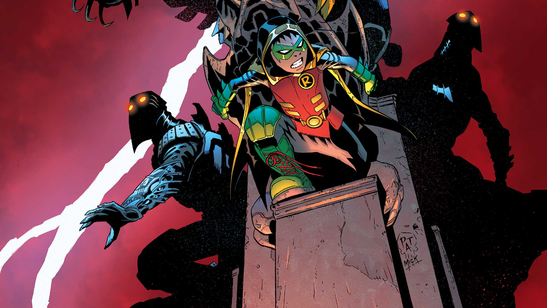 ROBIN: SON OF BATMAN #7 | DC