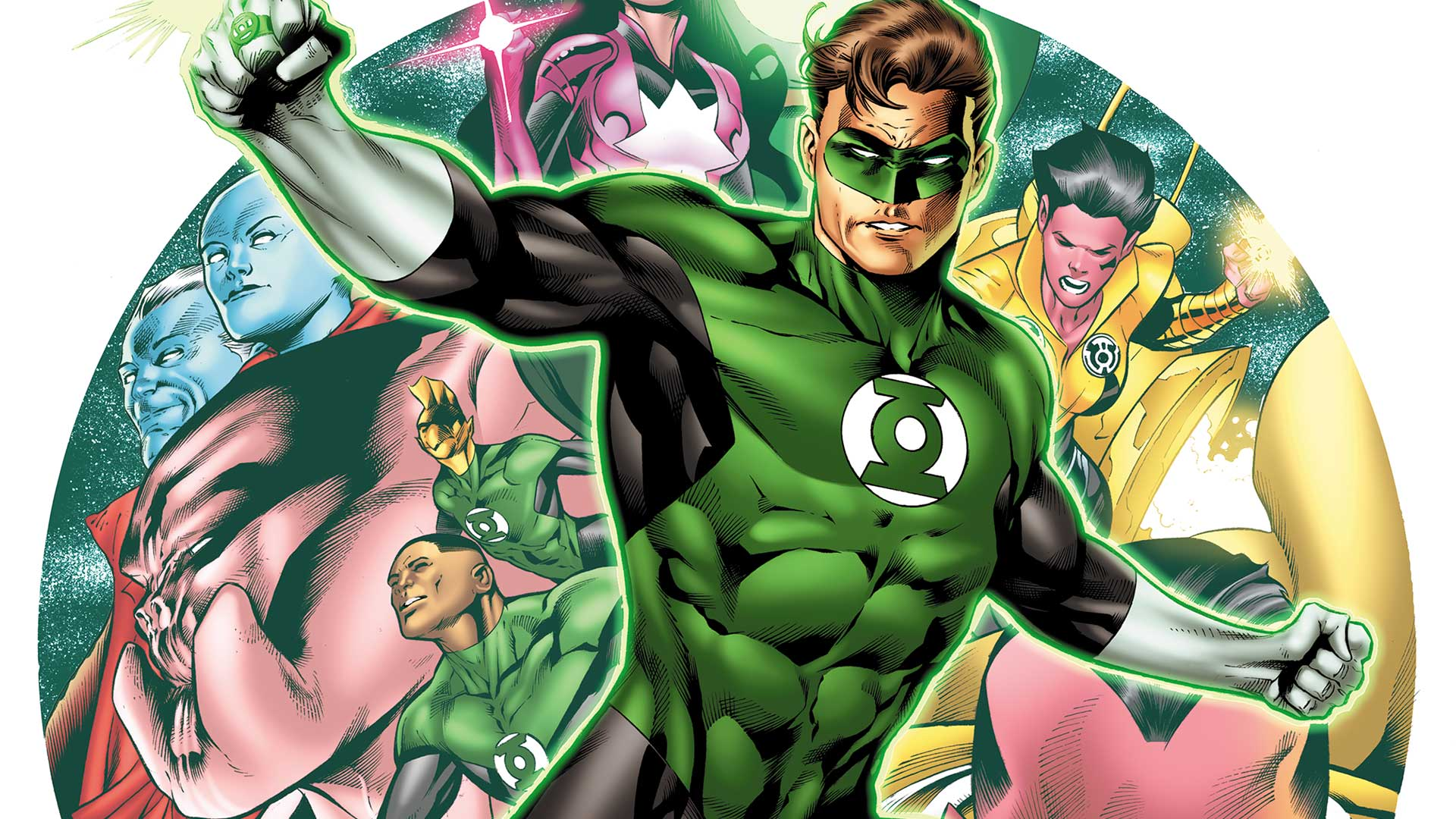 Keeping It Green Robert Venditti Reenlists For Hal Jordan And The Lantern Corps
