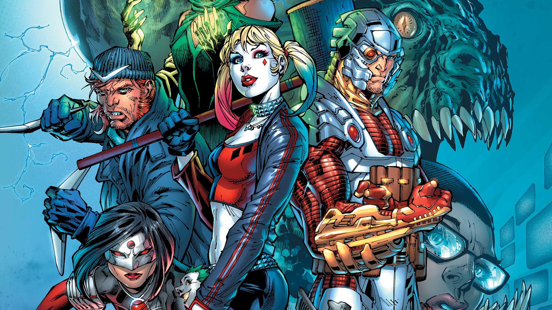Book Cover Artist Pay : Suicide squad dc