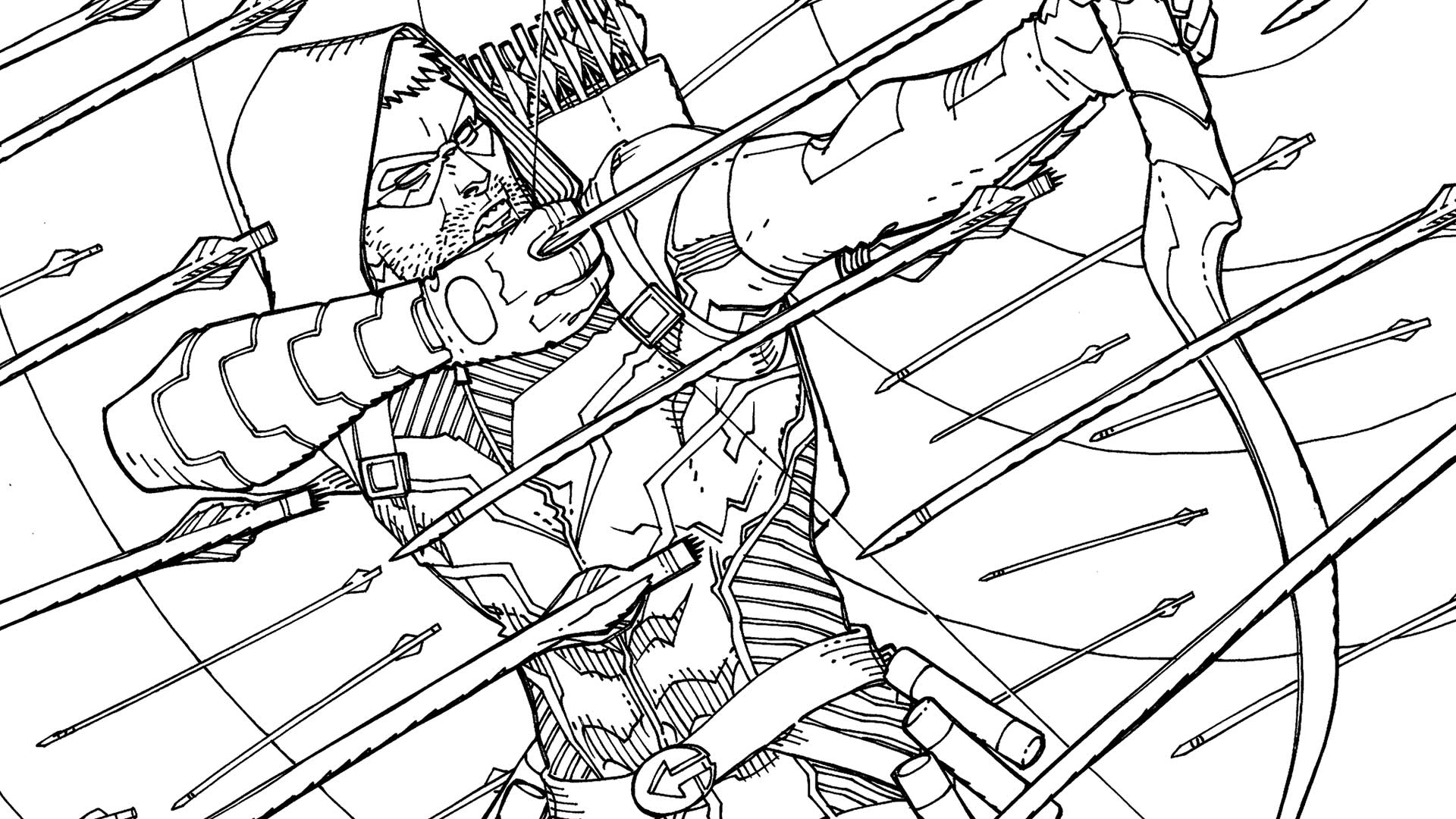 GREEN ARROW: AN ADULT COLORING BOOK | DC