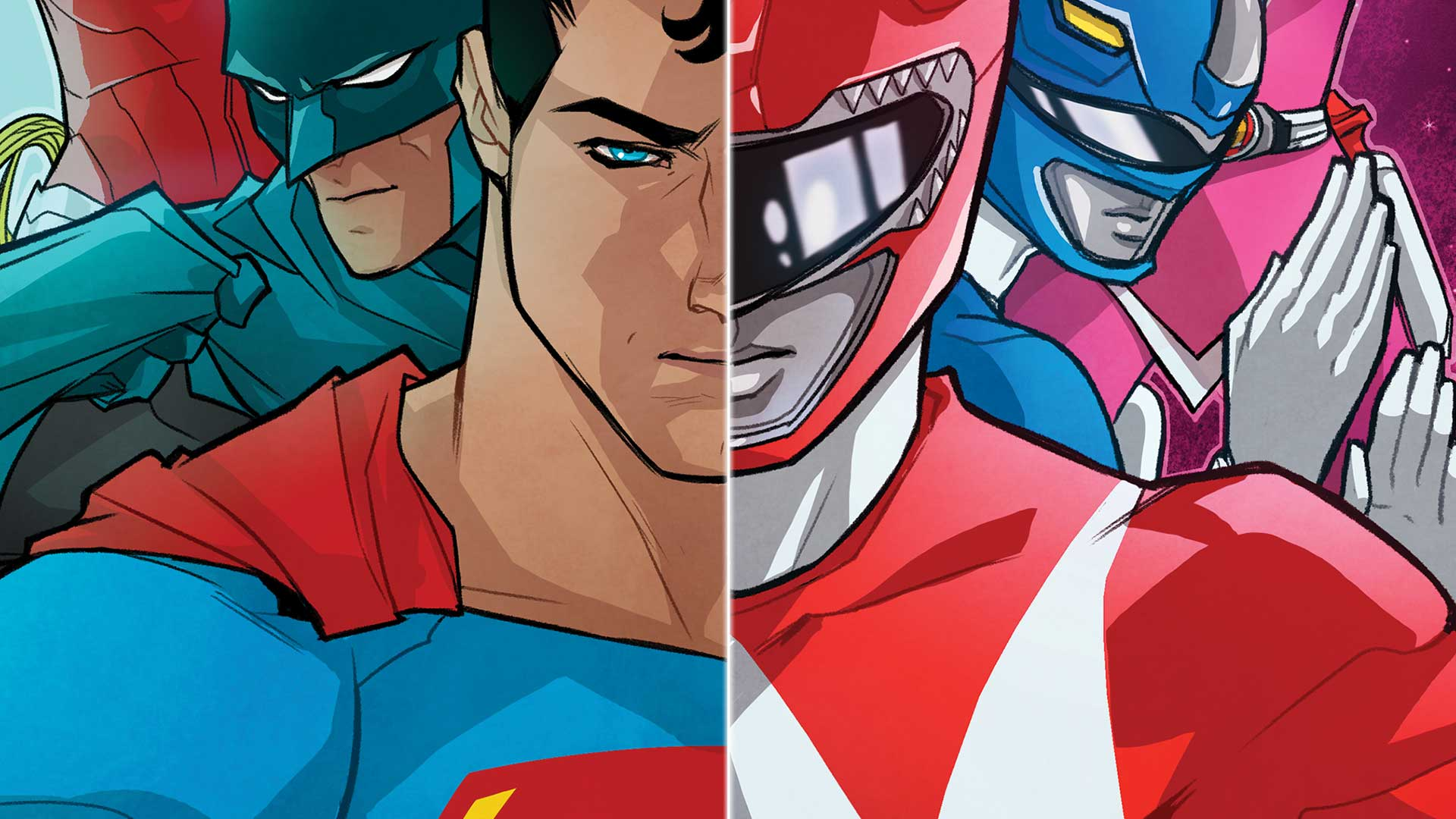 justice league/power rangers #1 | dc
