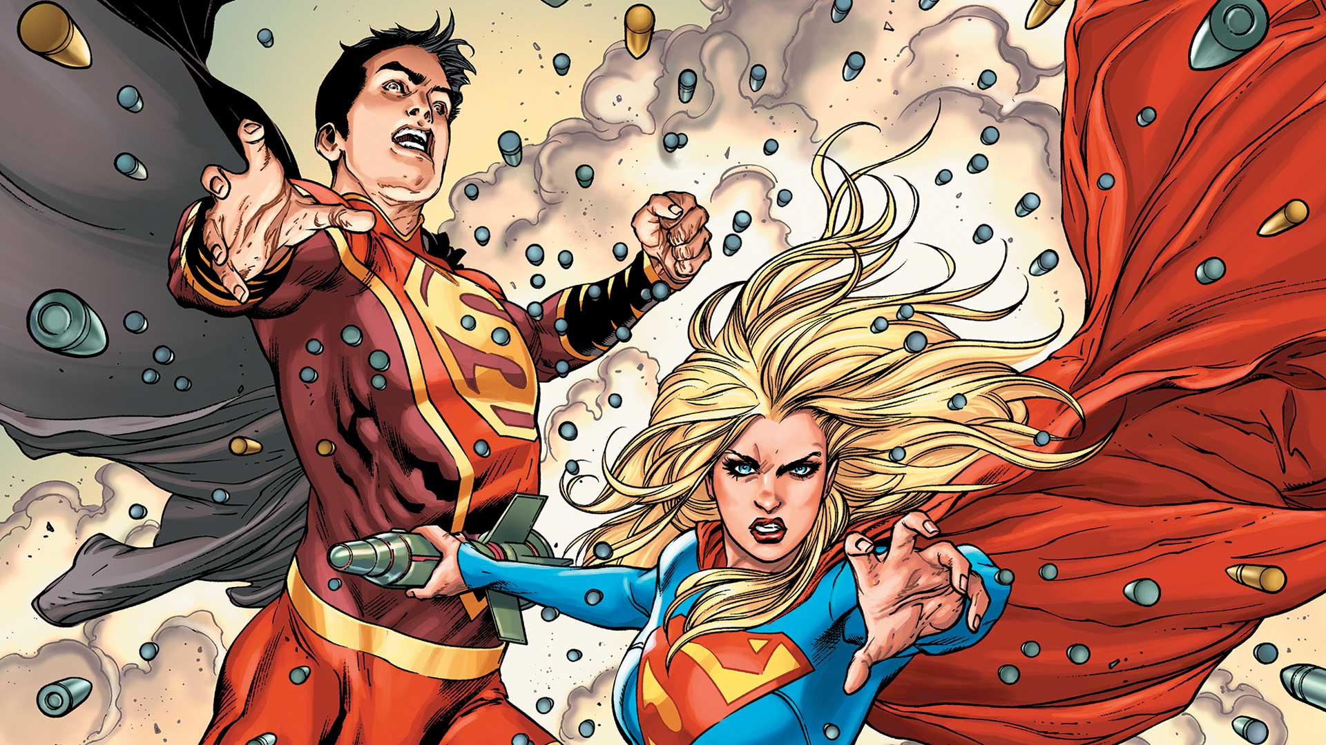 First Look: Supergirl Bonds with New Super-Man | DC X Men Girl Power Form