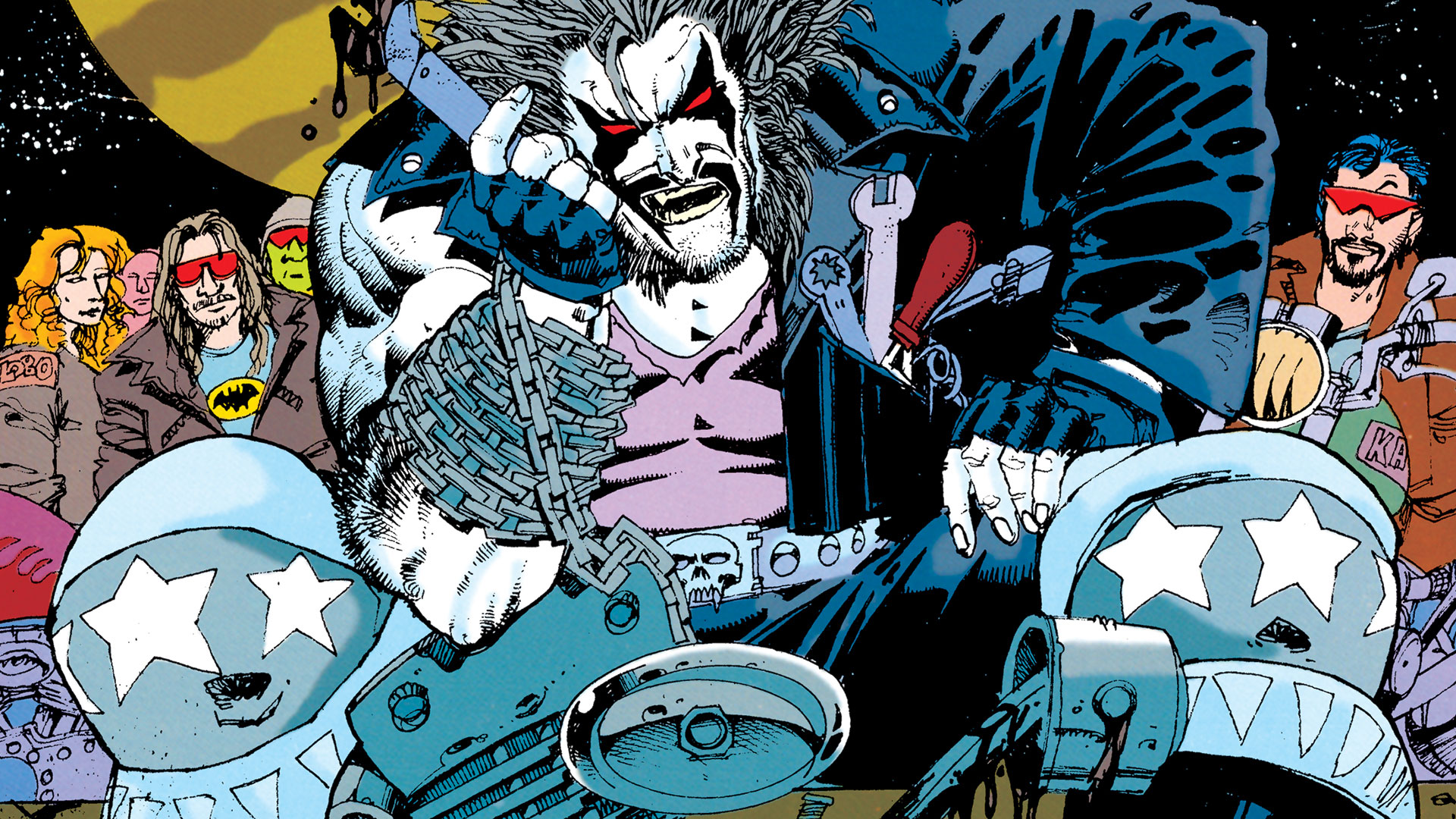 Lobo By Keith Giffen And Alan Grant Vol 1 Dc