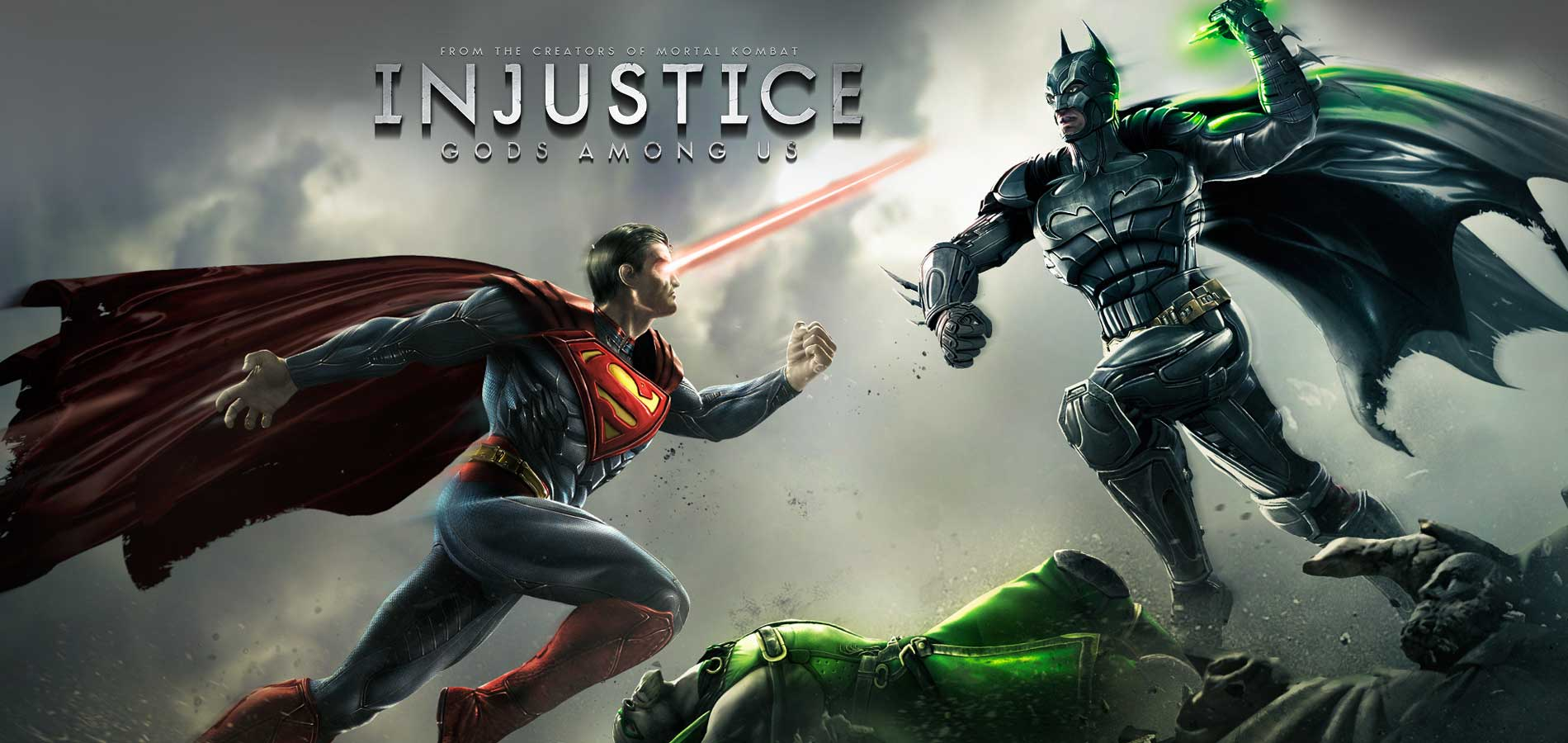 Injustice: Gods Among Us (2013)-Best cool fighting games for player love classical games