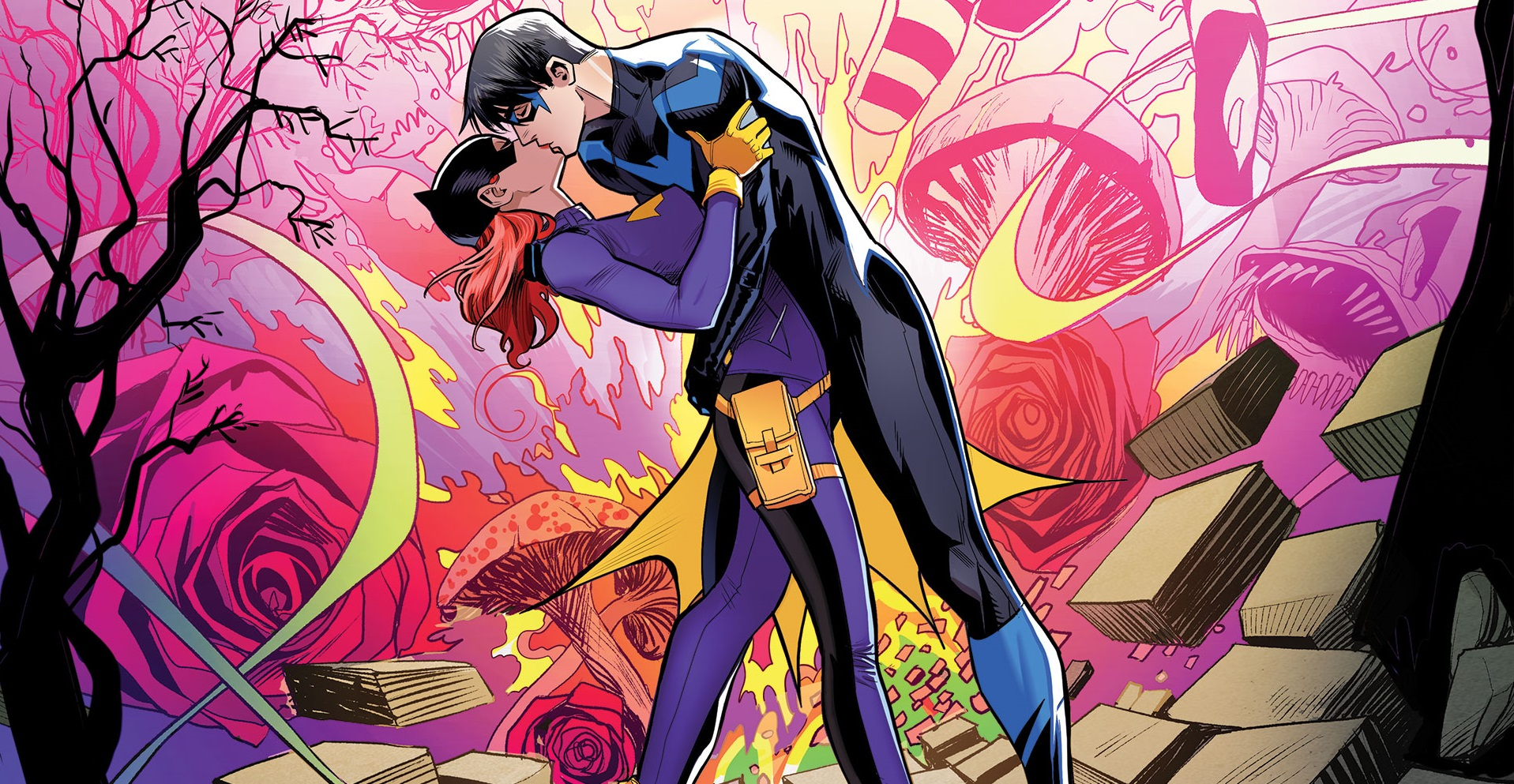 Why Barbara Gordon and Dick Grayson are DC's Greatest Love