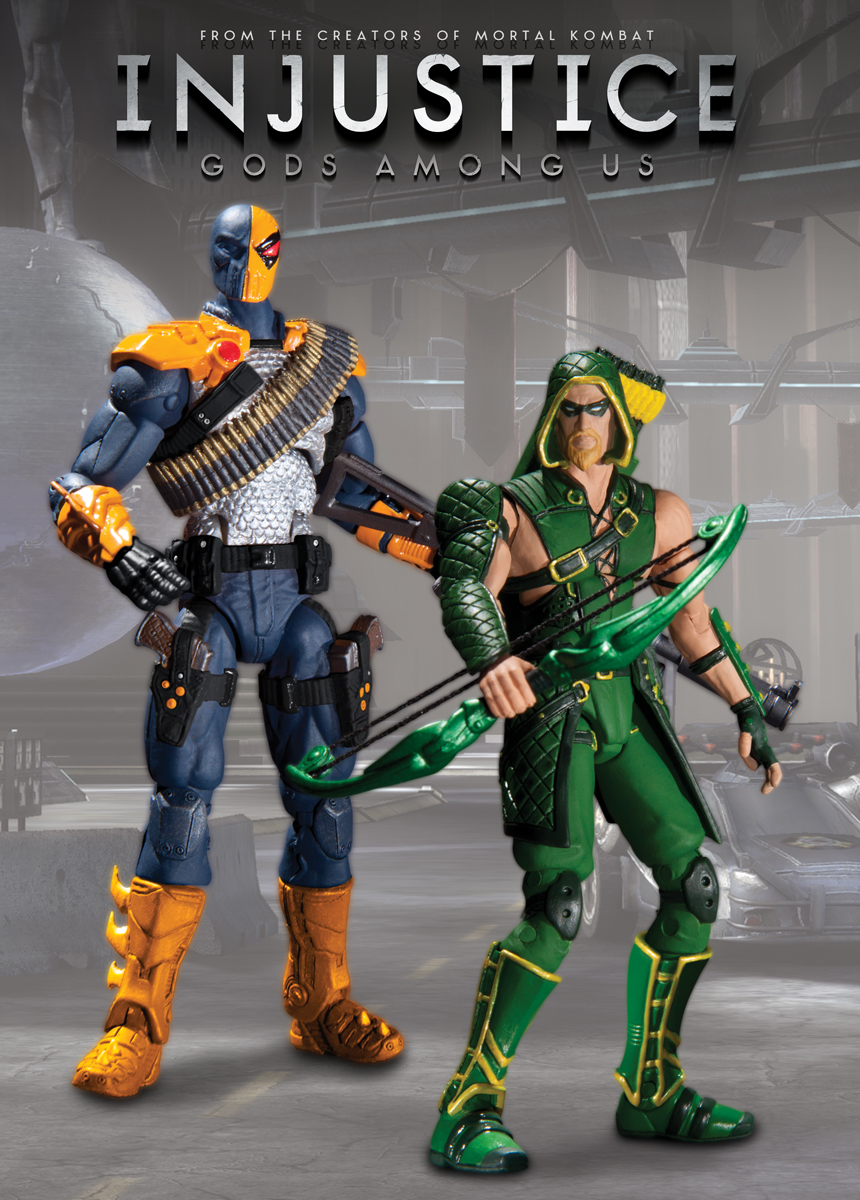 Toys For Injustice : Dc collectibles launches new line of injustice
