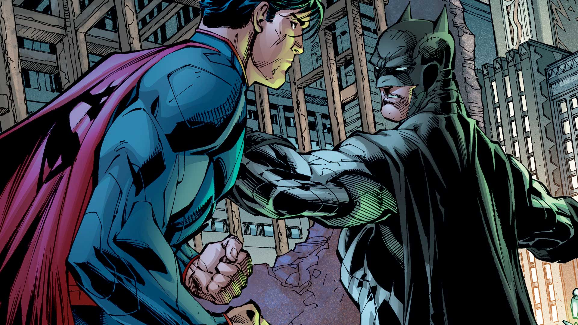 Batman V Superman Five Breathtaking Comic Book Battles