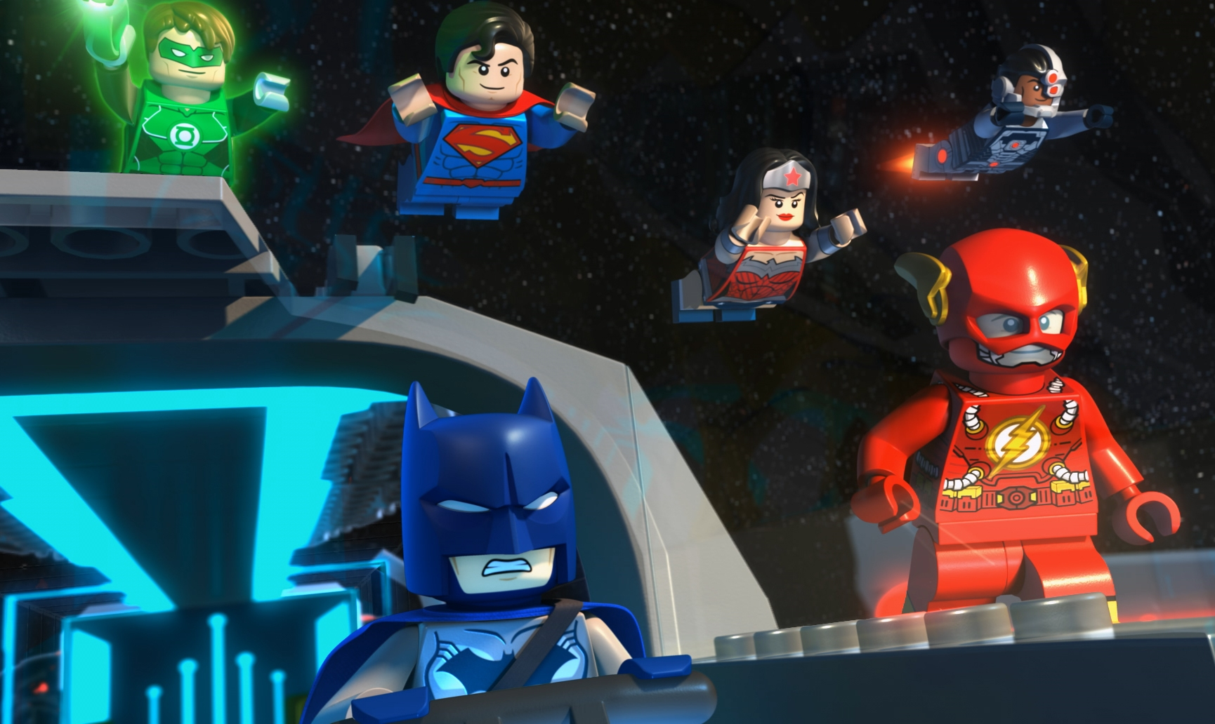 how to make lego dc characters