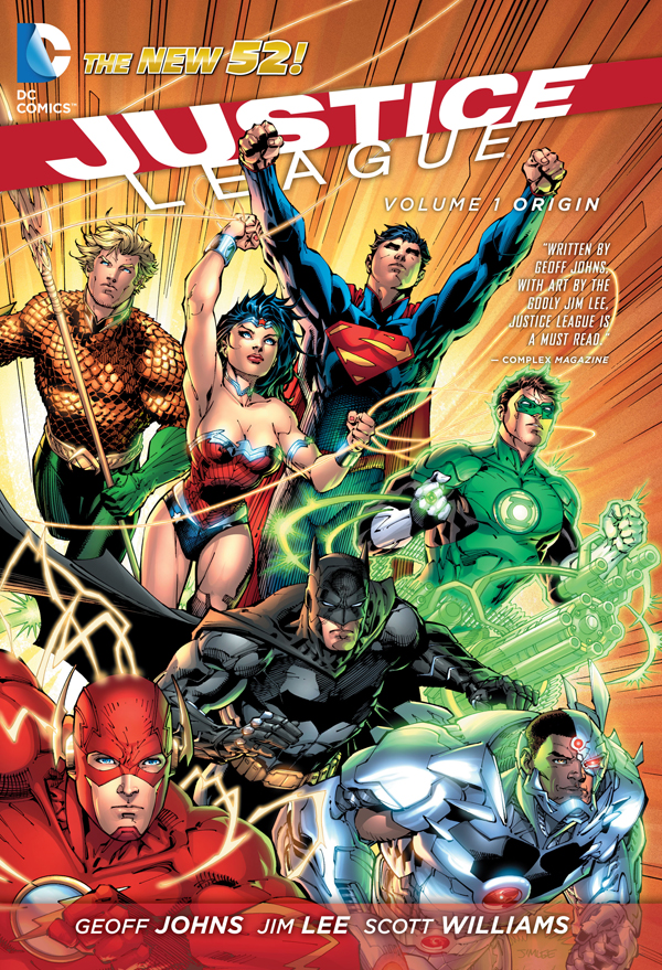Geoff Johns And Jim Lee Signing JUSTICE LEAGUE VOL. 1
