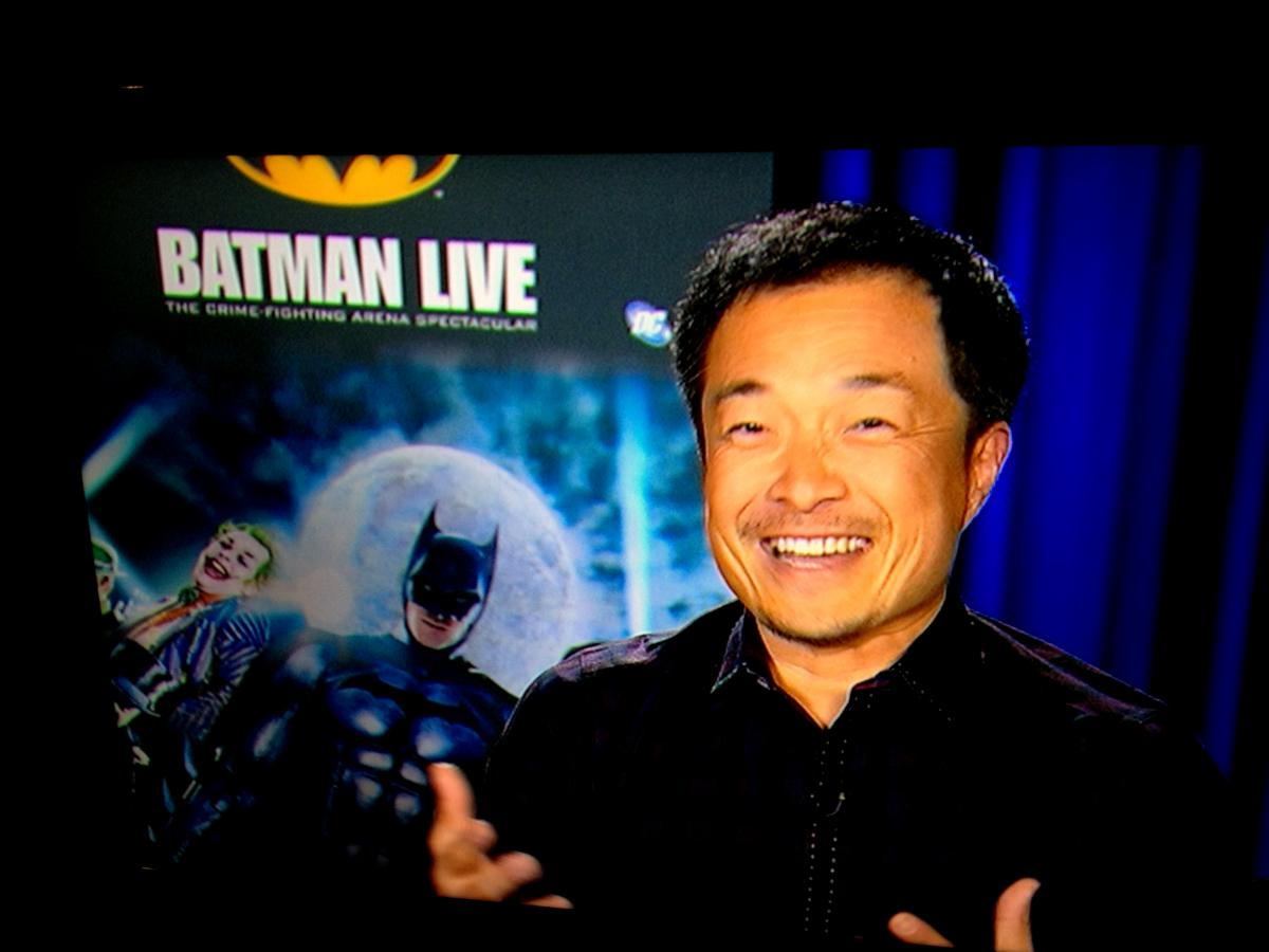 Jim Lee Batman Live Press Tour