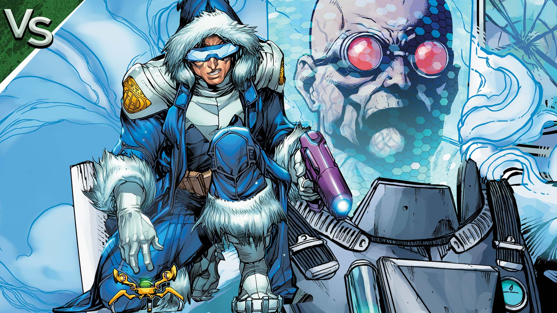 dc all access captain cold vs mr freeze dc