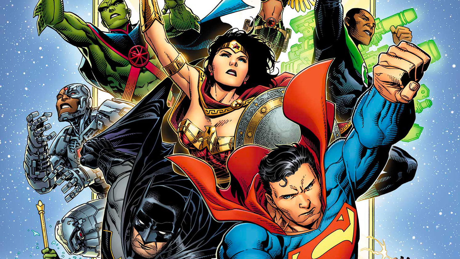 Justice League New Justice Dc