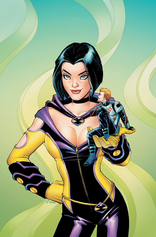 PHLADY Cv1 Palmiotti and Gray Revamping Phantom Lady (and Doll Man) For DC