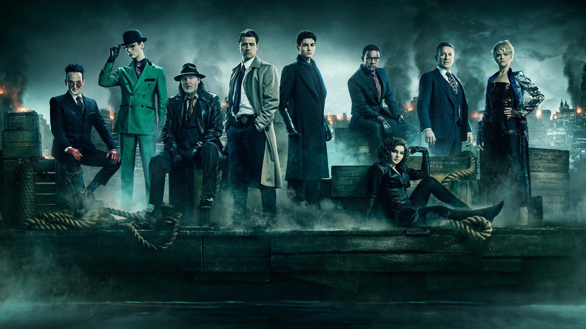 Image result for Gotham Final Season poster
