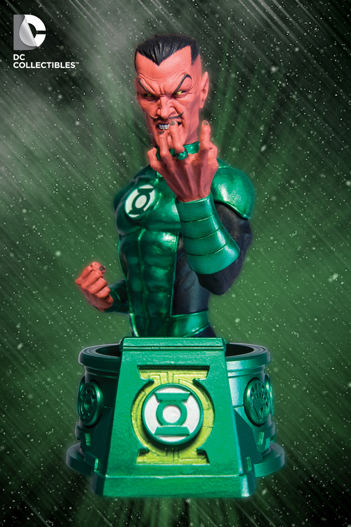 Blackest Night Sinestro Bust