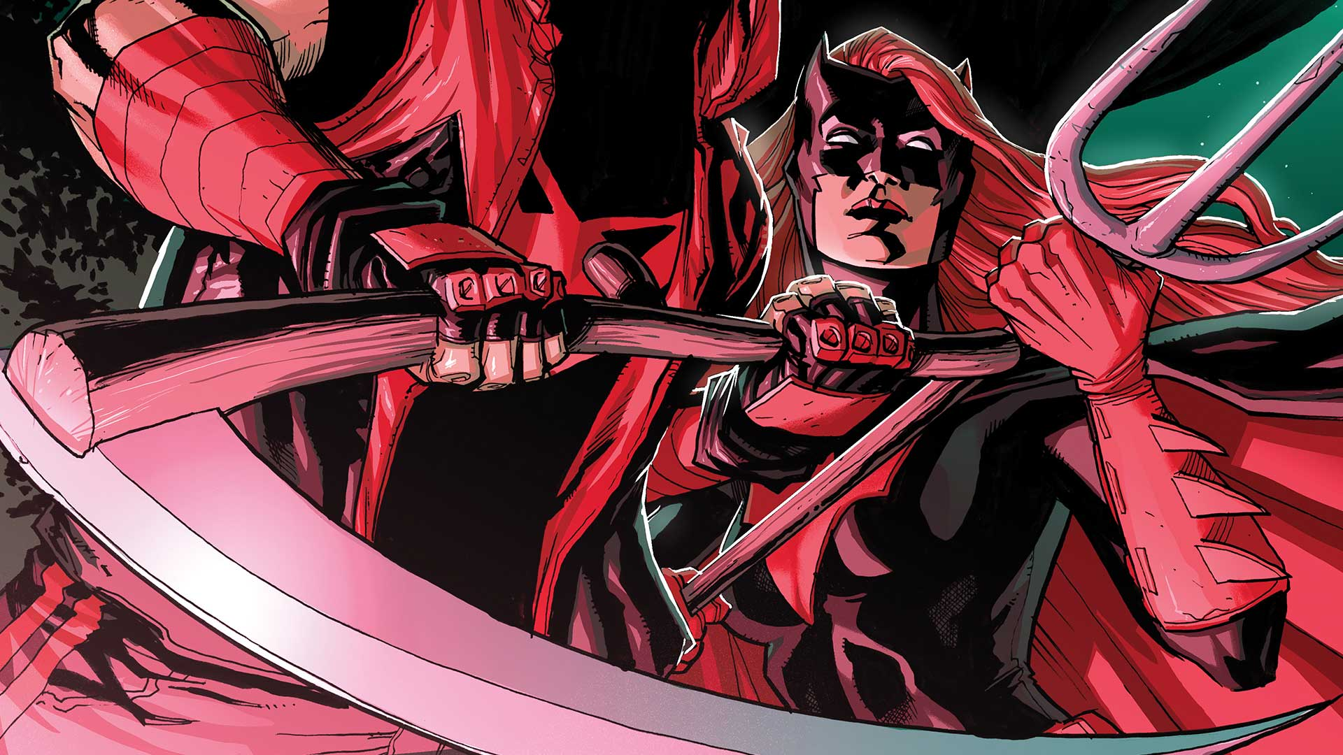 First Look Red Hood Partners With Batwoman Dc