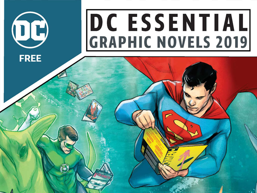 Browse the Brand-New DC Essential Graphic Novels 2019