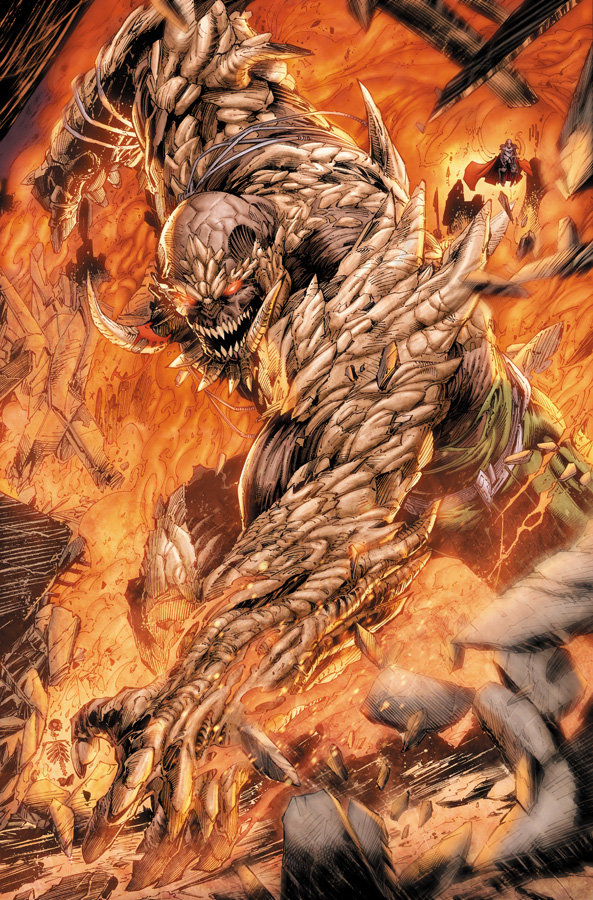 First Look At Week Four Of Villains Month Doomsday First Born Metallo Parasite Dc