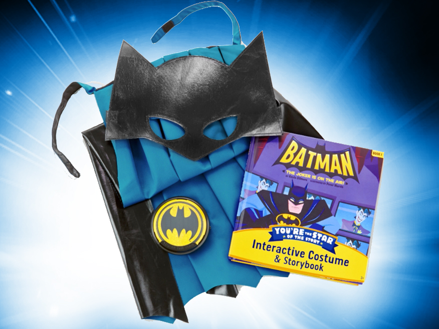 A Batman Costume and Storybook & Youu0027re the Star!...A Batman Costume and Storybook | DC