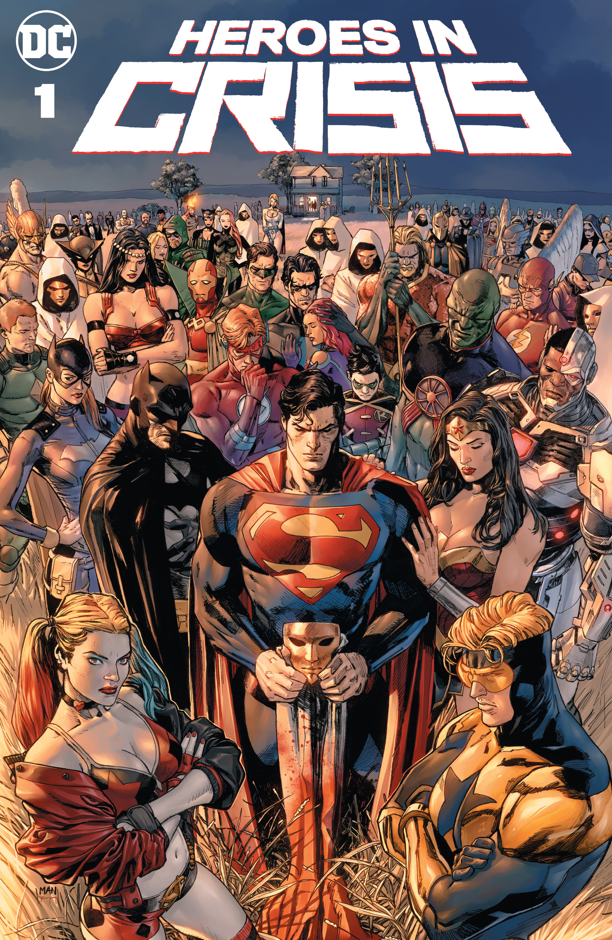 """DC REVEALS TOM KING AND CLAY MANN'S TOP SECRET PROJECT, SANCTUARY, AS  """"HEROES IN CRISIS"""" 