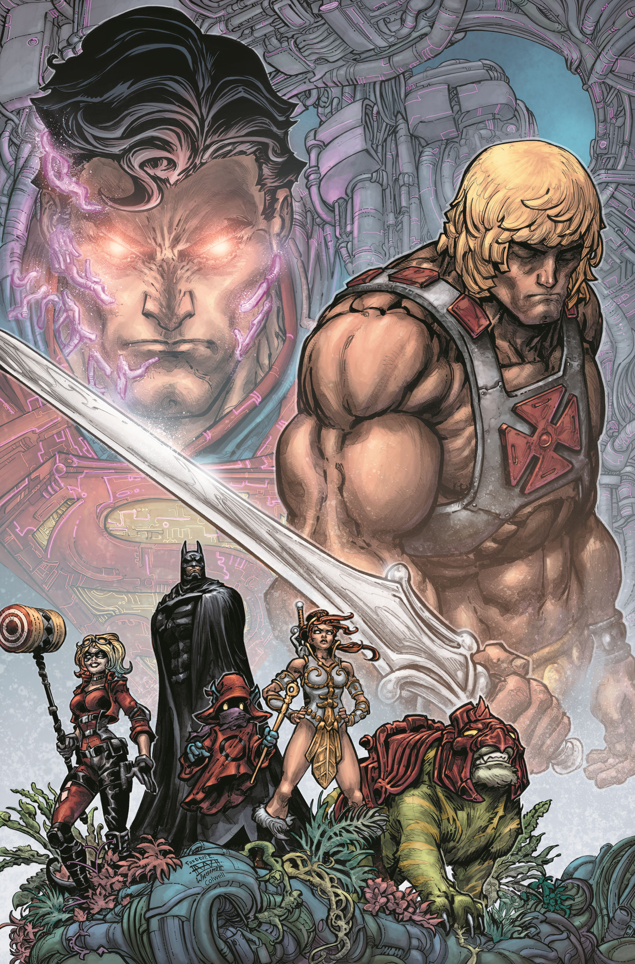 DC SUPER HEROES AND SUPER-VILLAINS COLLIDE WITH THE POWER OF GRAYSKULL IN INJUSTICE VS. HE-MAN AND THE MASTERS OF THE UNIVERSE