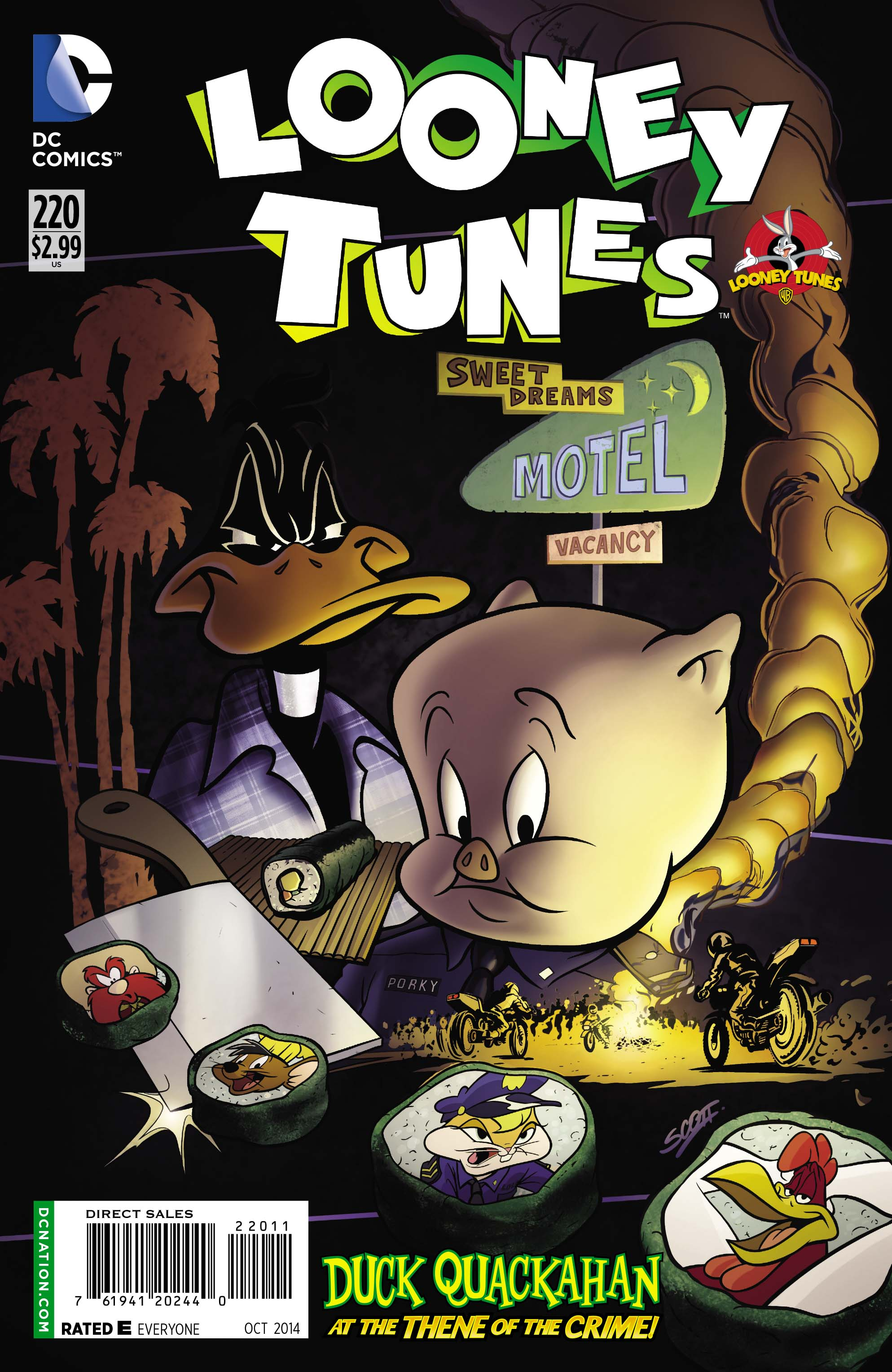 Exclusive Preview of LOONEY TUNES #220