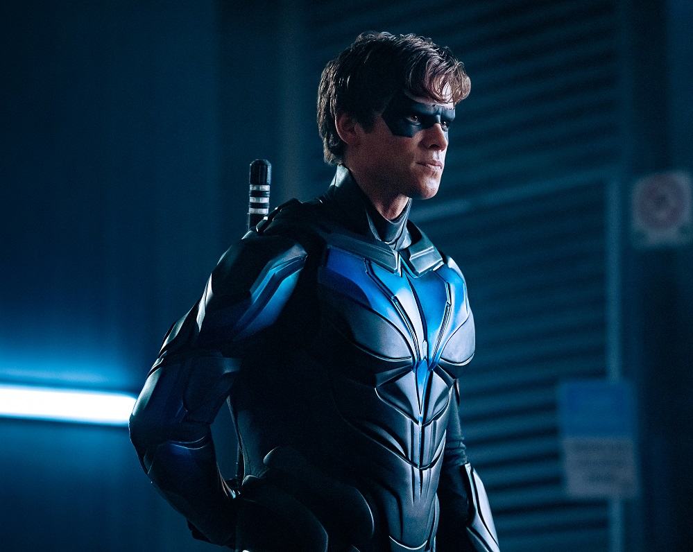 Titans Nightwing Suit