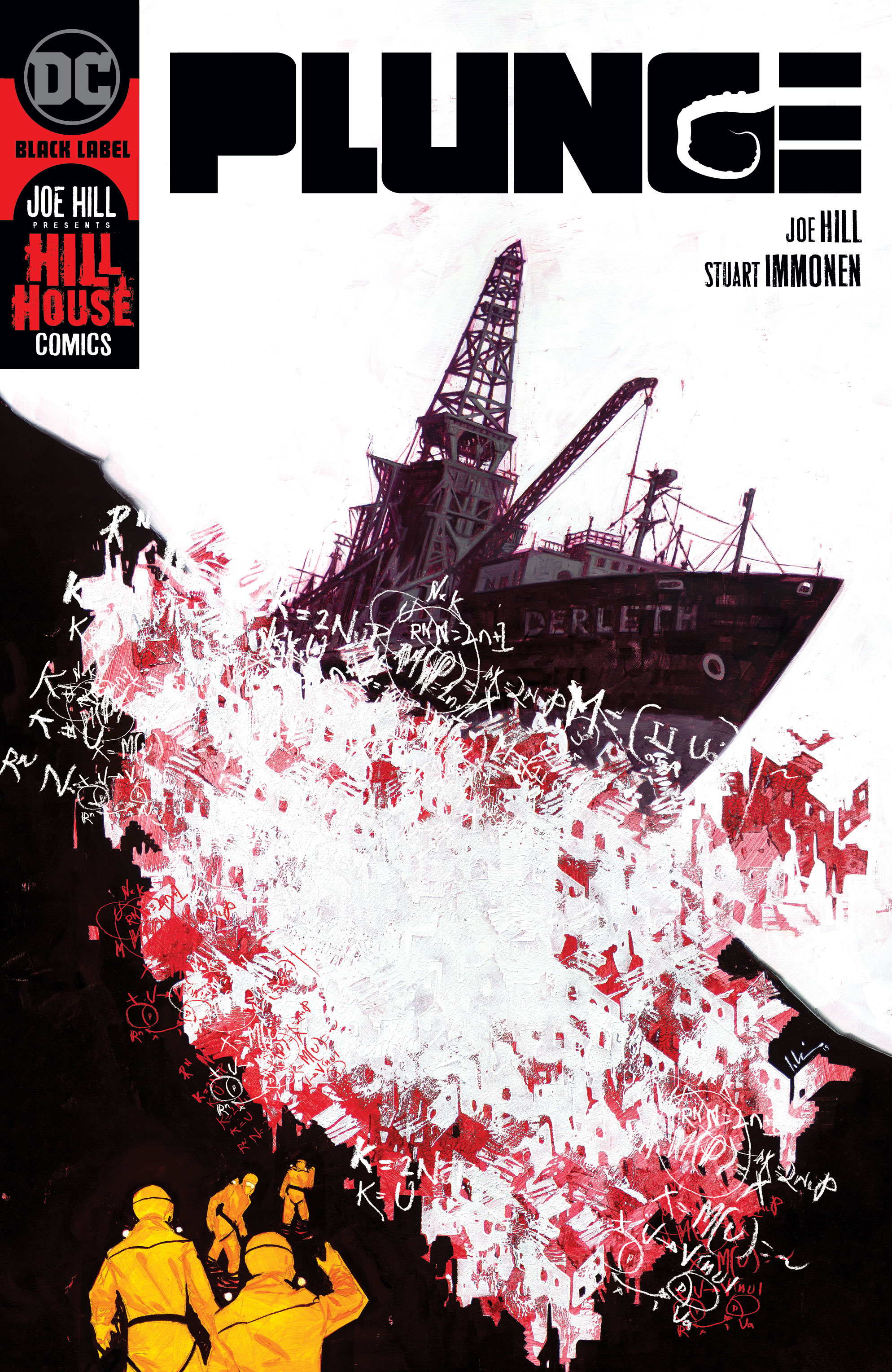 Joe Hill and Stuart Immonen Plunge to the Depths of Terror | DC