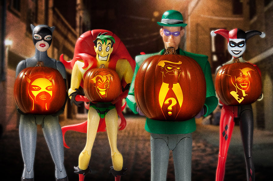 Dc Collectibles Carving A Batman The Animated Series Pumpkin Dc