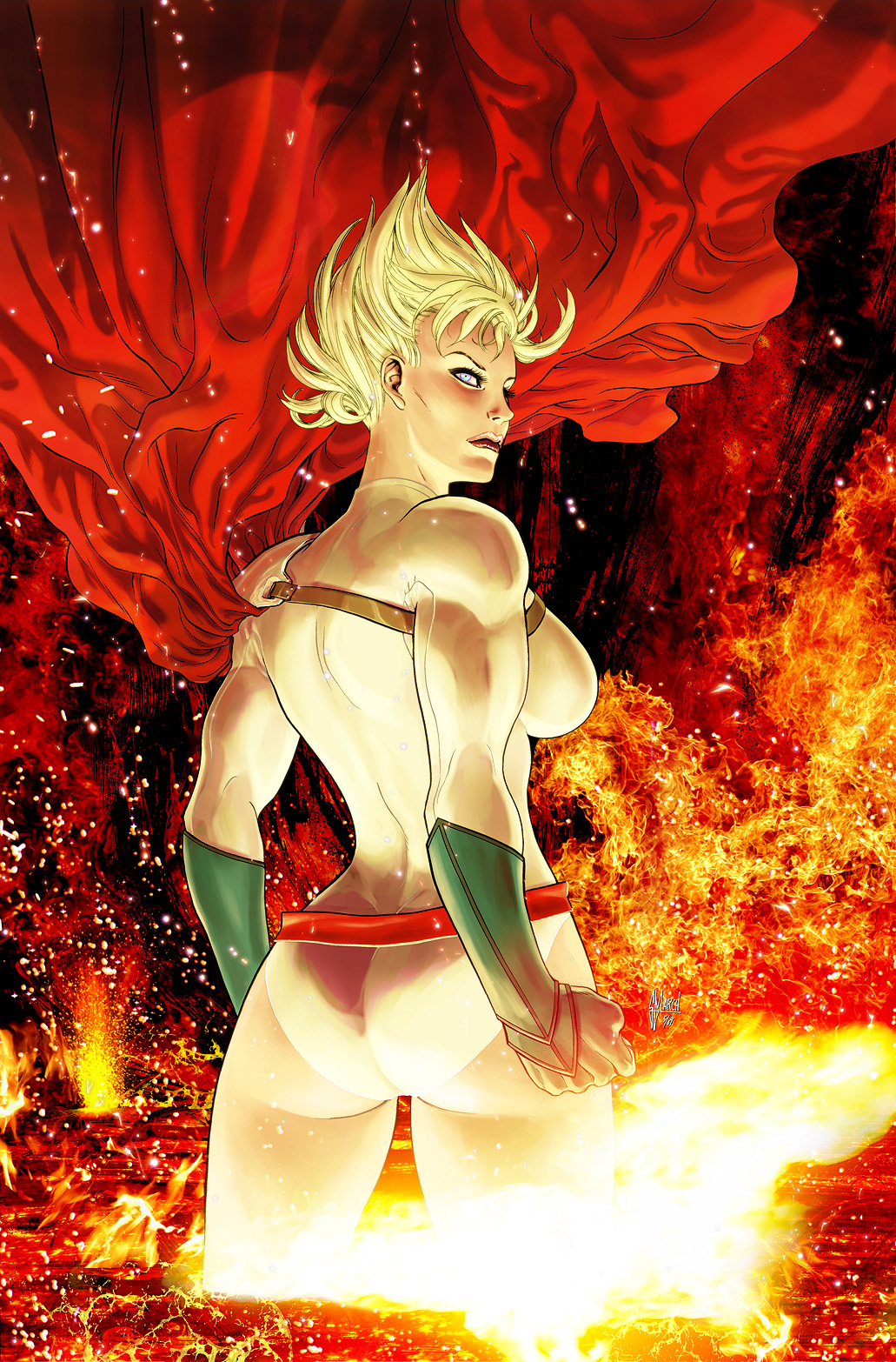 have a guillem march power girl variant cover | dc