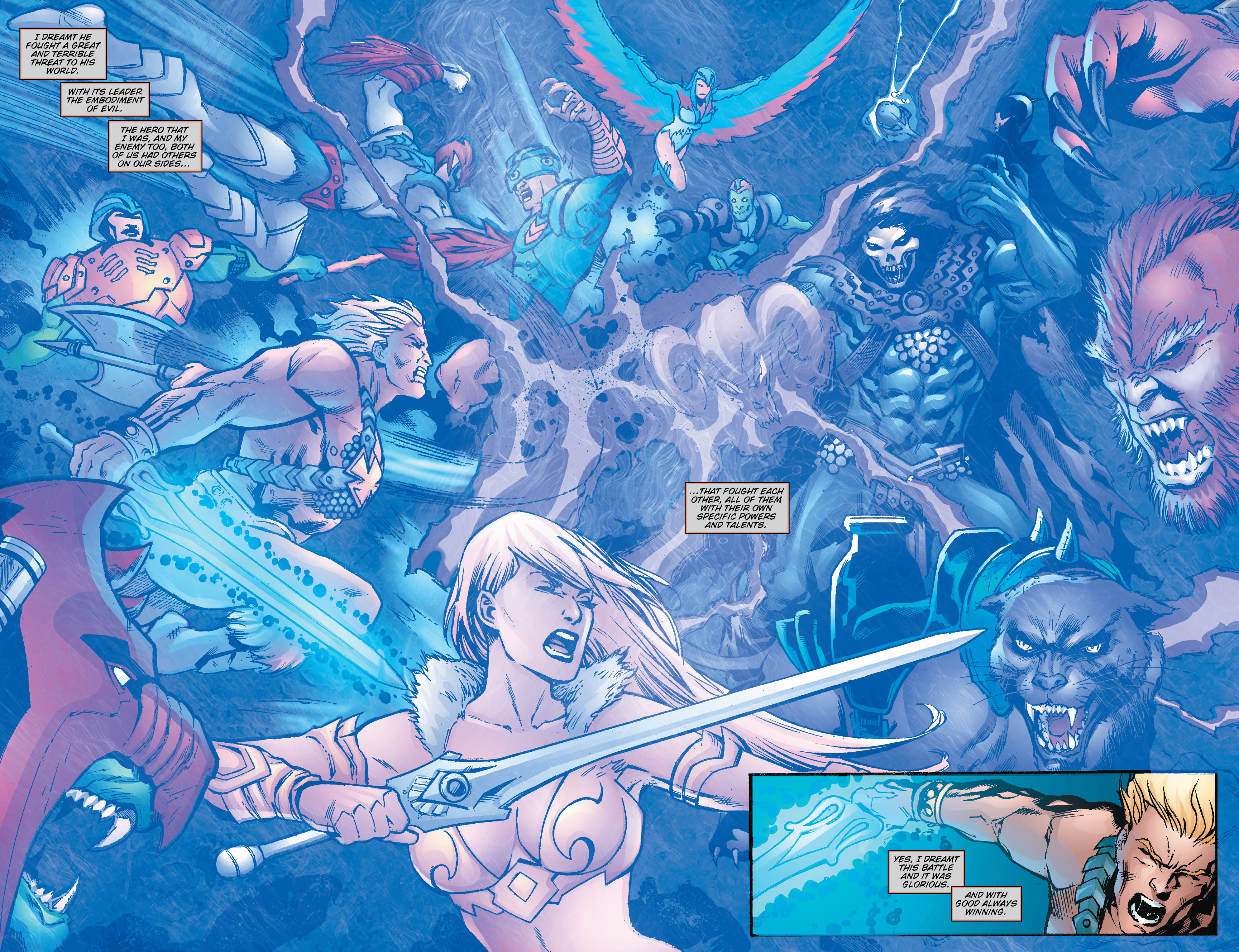 HEMAN AND THE MASTERS OF THE UNIVERSE 1 Preview  DC