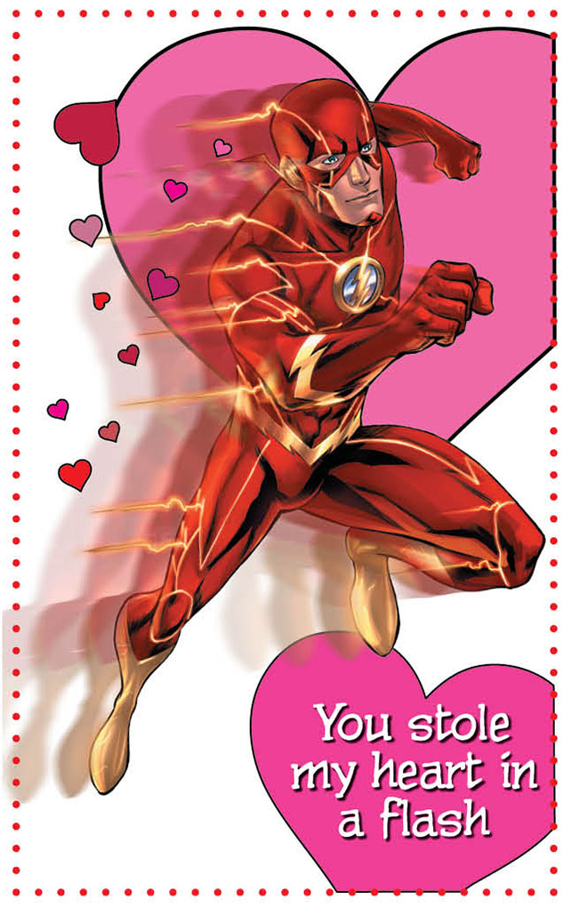 DC Comics The New 52 Valentines Day Cards – Special Valentine Cards