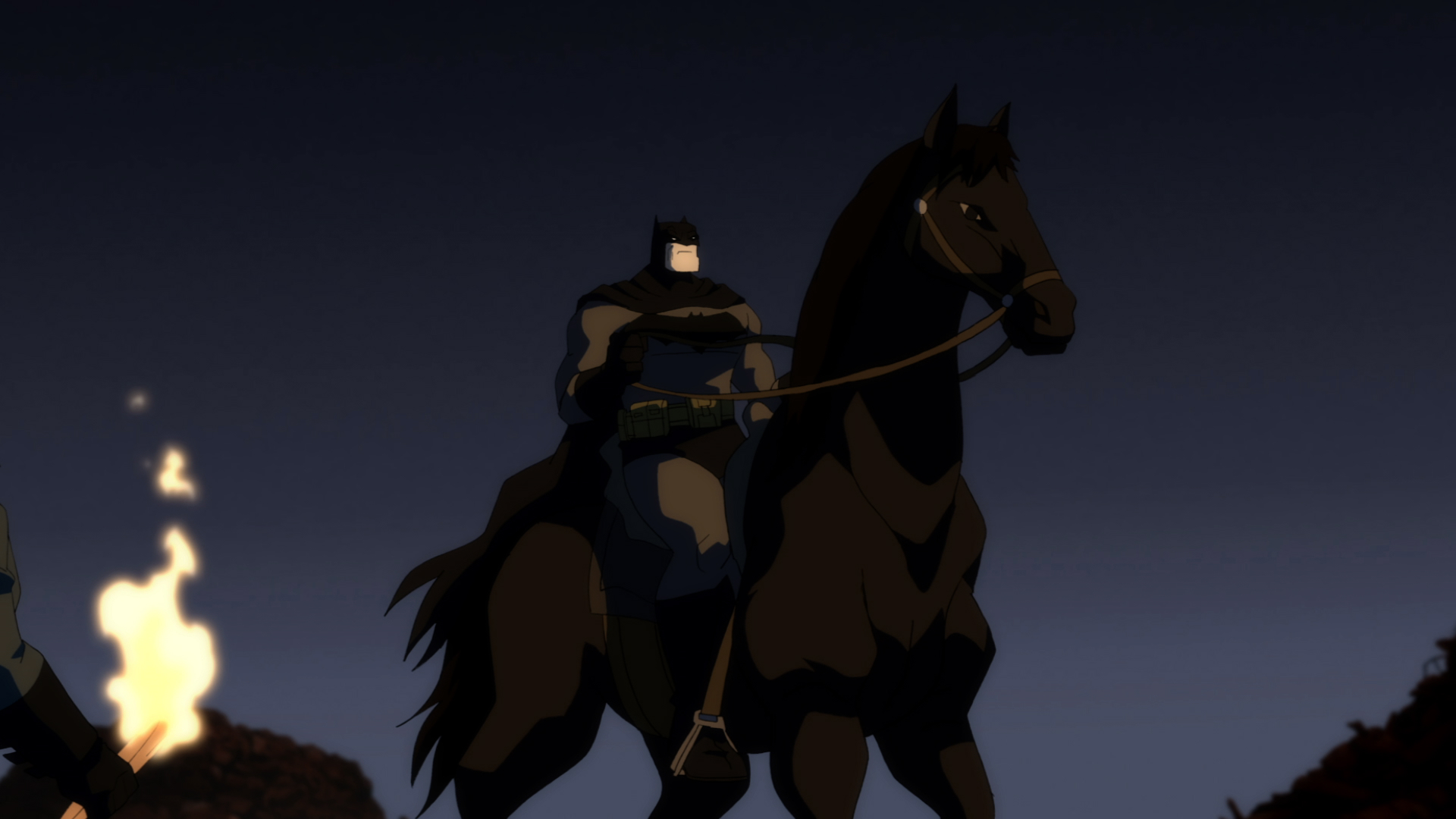 Image result for the dark knight returns batman horse